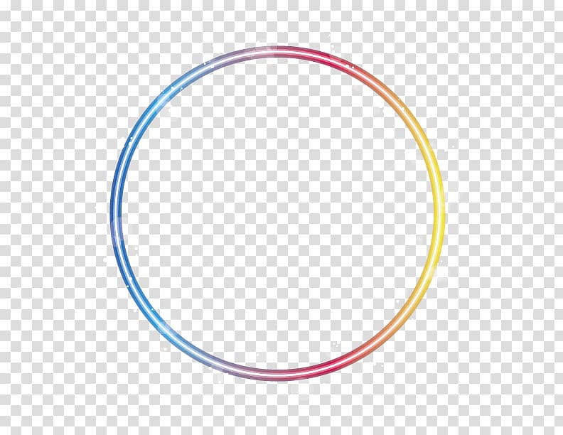 Yellow, red, and blue graphic , Circle Area Pattern, 2017.