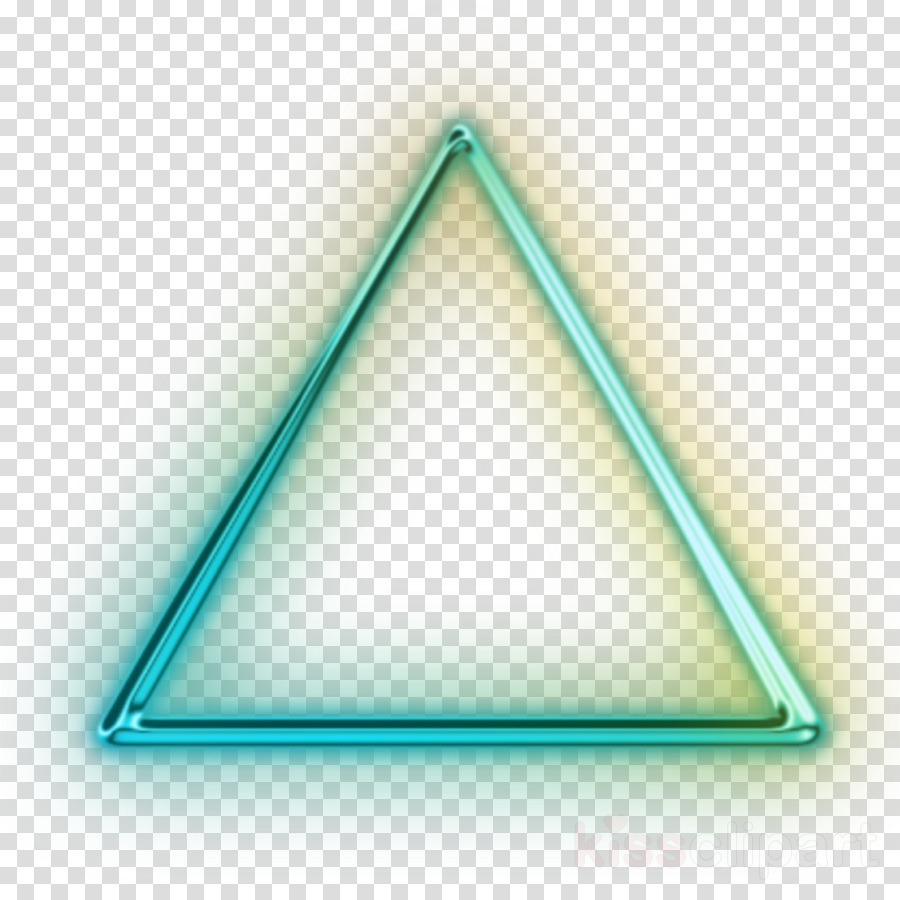 Neon Triangle clipart.