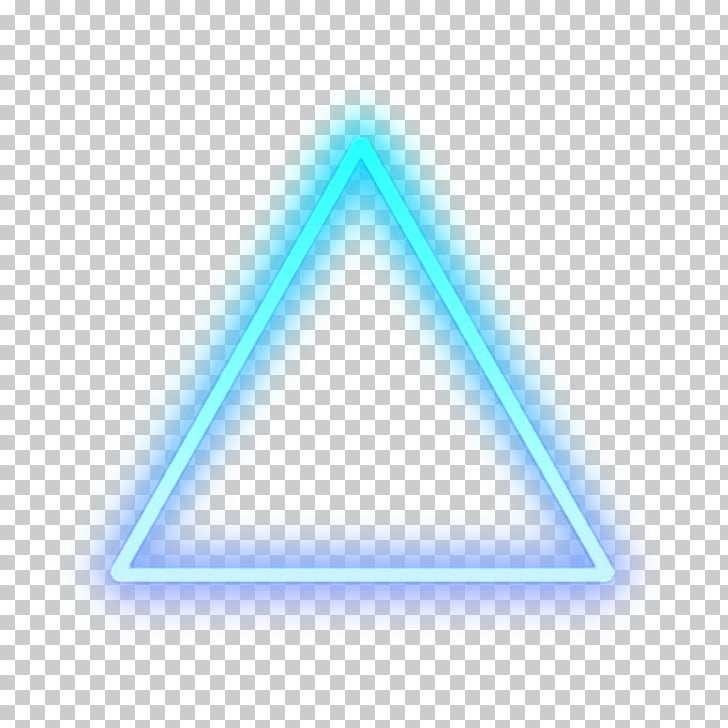Triangle Light Detroit: Become Human Sticker Neon sign.