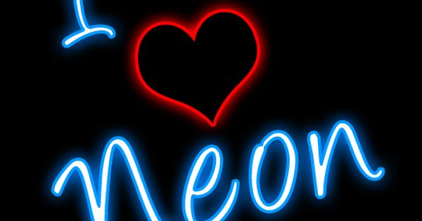 Clipart And Tagged Clipart I Love Neon Jeff Joe Mary Mike Neon.