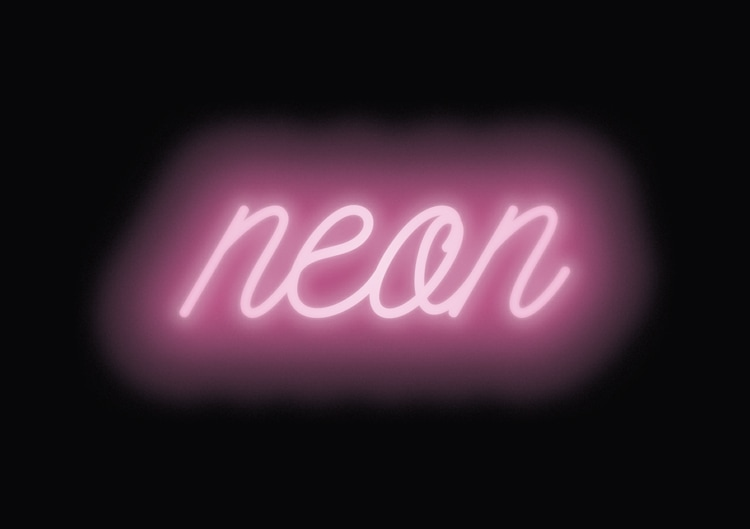 Quick Tip: Neon Text Effect in under 5 Minutes.