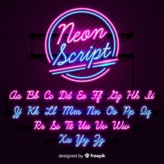 Neon Vectors, Photos and PSD files.