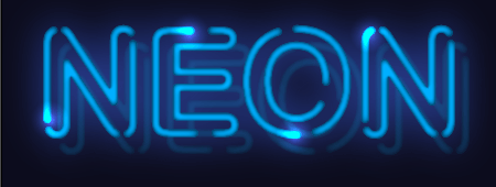 Create Neon Text Effect with Stylism and Adobe Illustrator.
