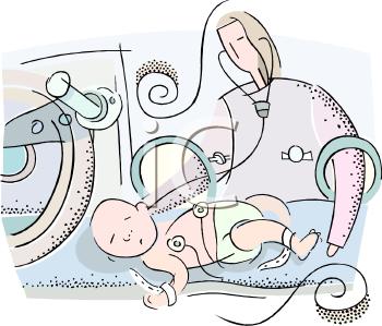 Neonatal Nurse Clip Art.