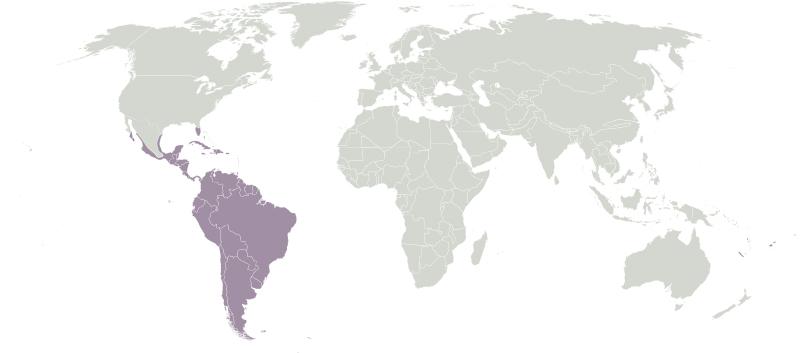 Neotropic Ecozone.