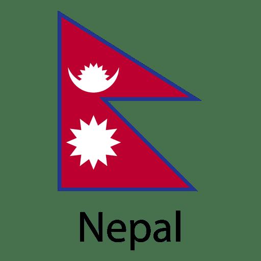 Nepal national flag.