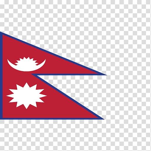 Flag of Nepal National flag Nepali language, Flag.