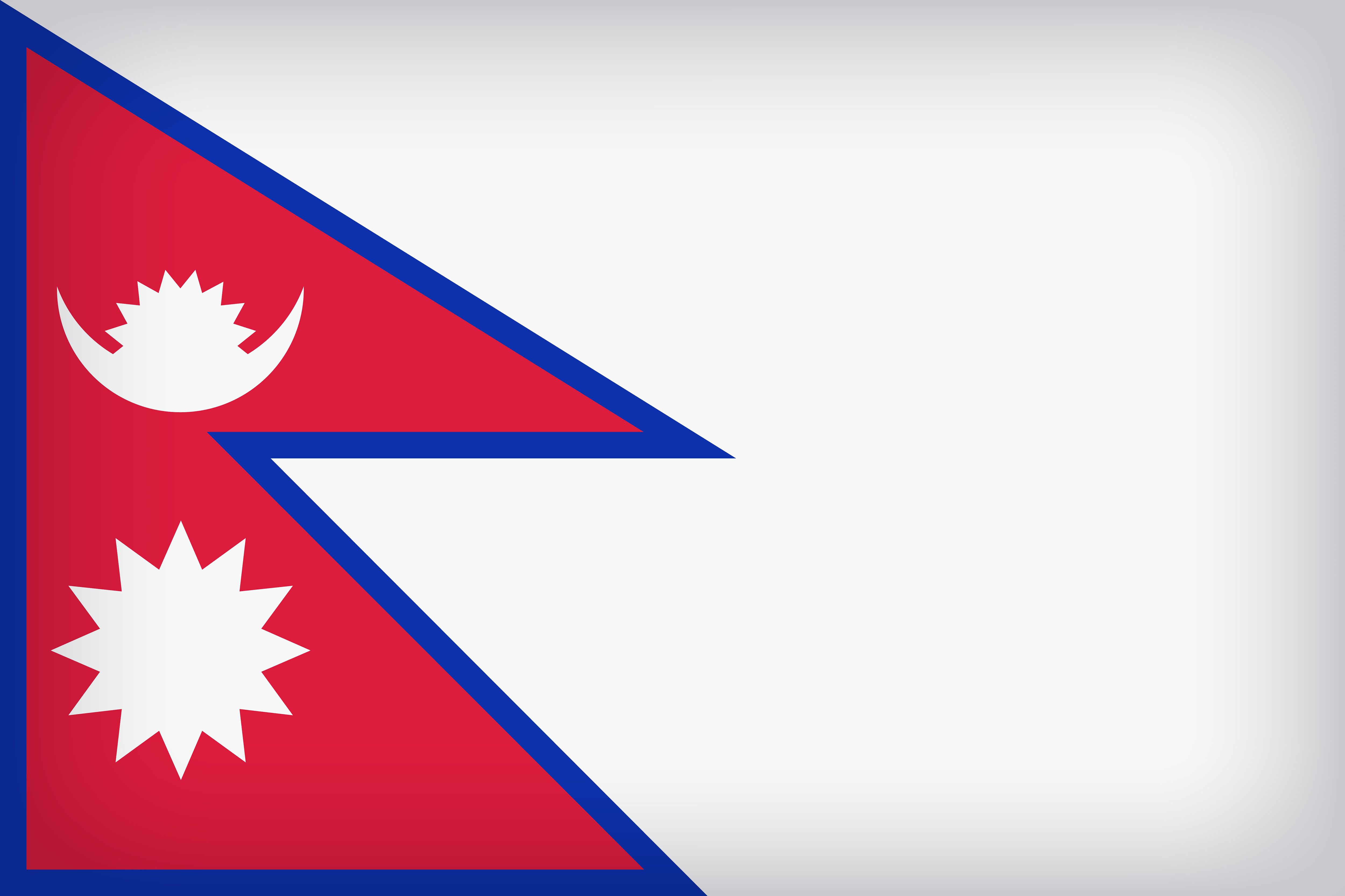 Nepal Large Flag.