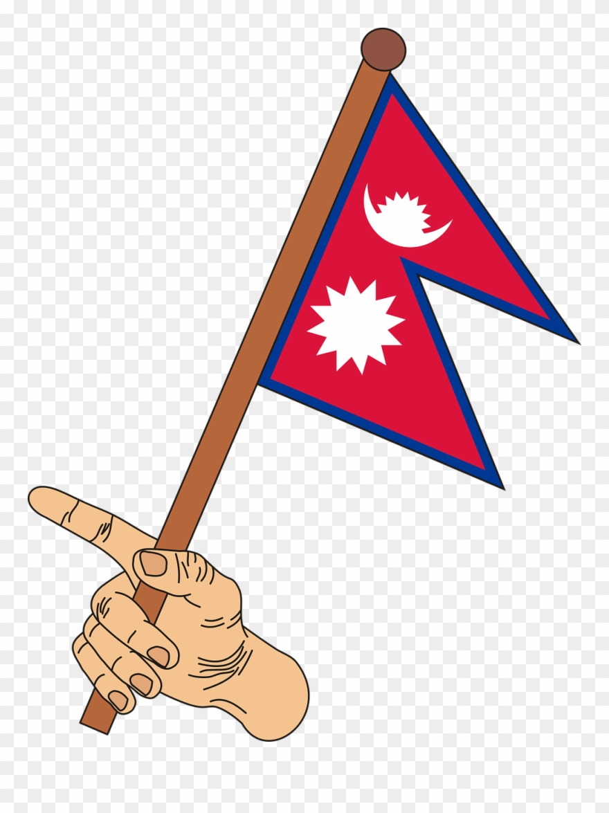 Flag Nepal The Flag Of Nepal Clipart (#3057246).
