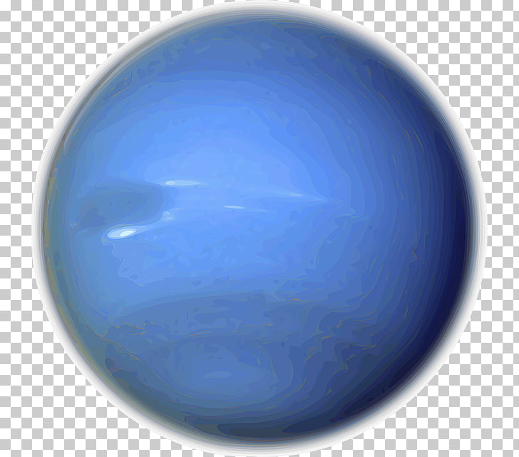 Neptune Planet , solar system PNG clipart.