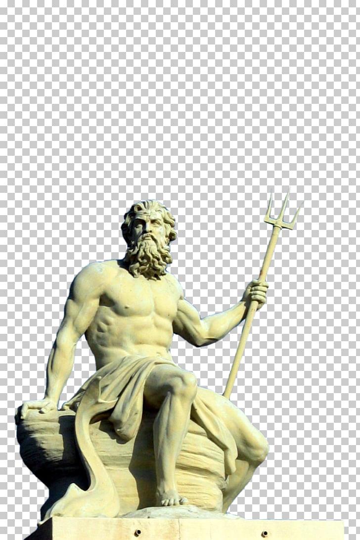 Poseidon of Melos Greek mythology Sculpture Neptune, Neptune.