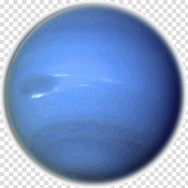Neptune Planet , solar system transparent background PNG.