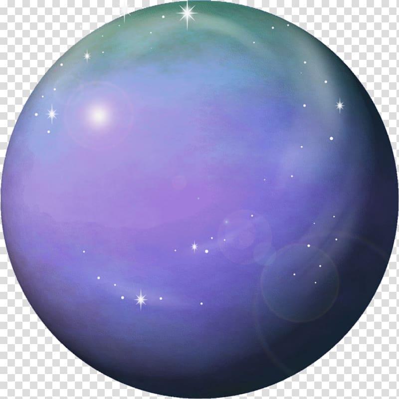 Purple and green ball , Earth Planet Venus Neptune, Venus.