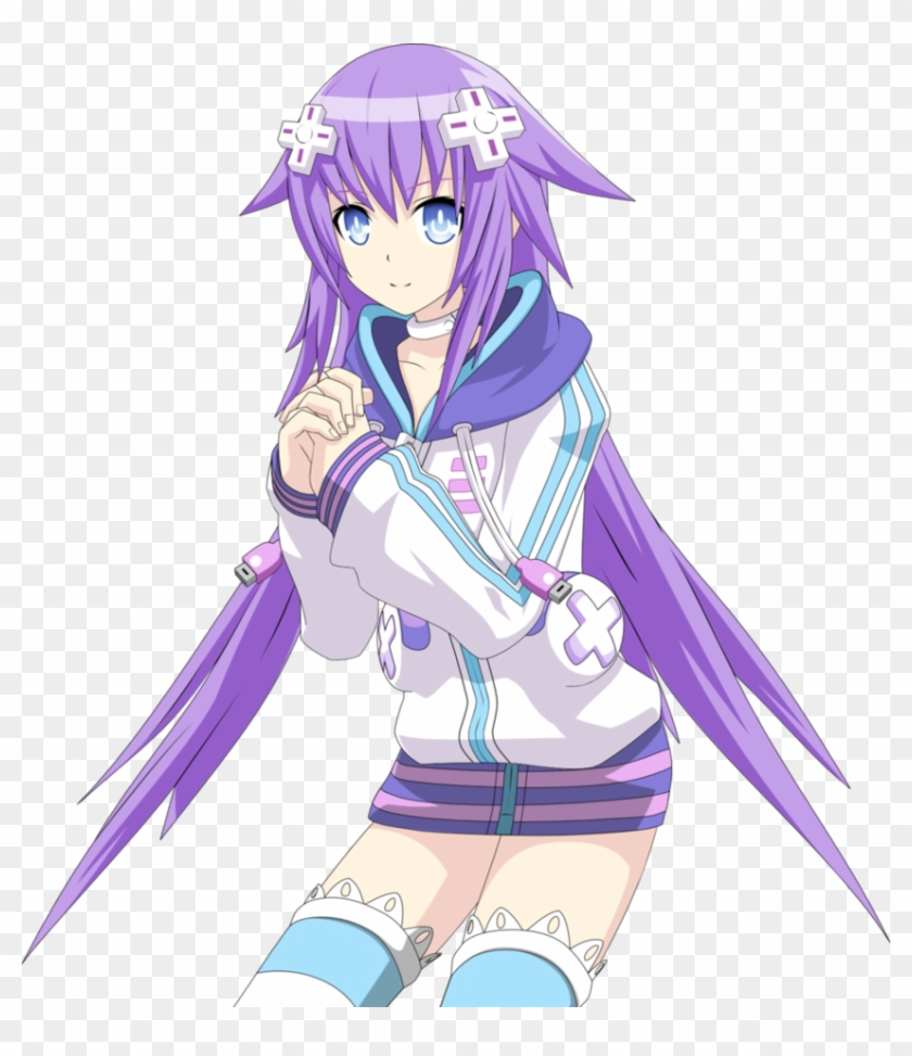 Neptunia Transparent Purple Heart.
