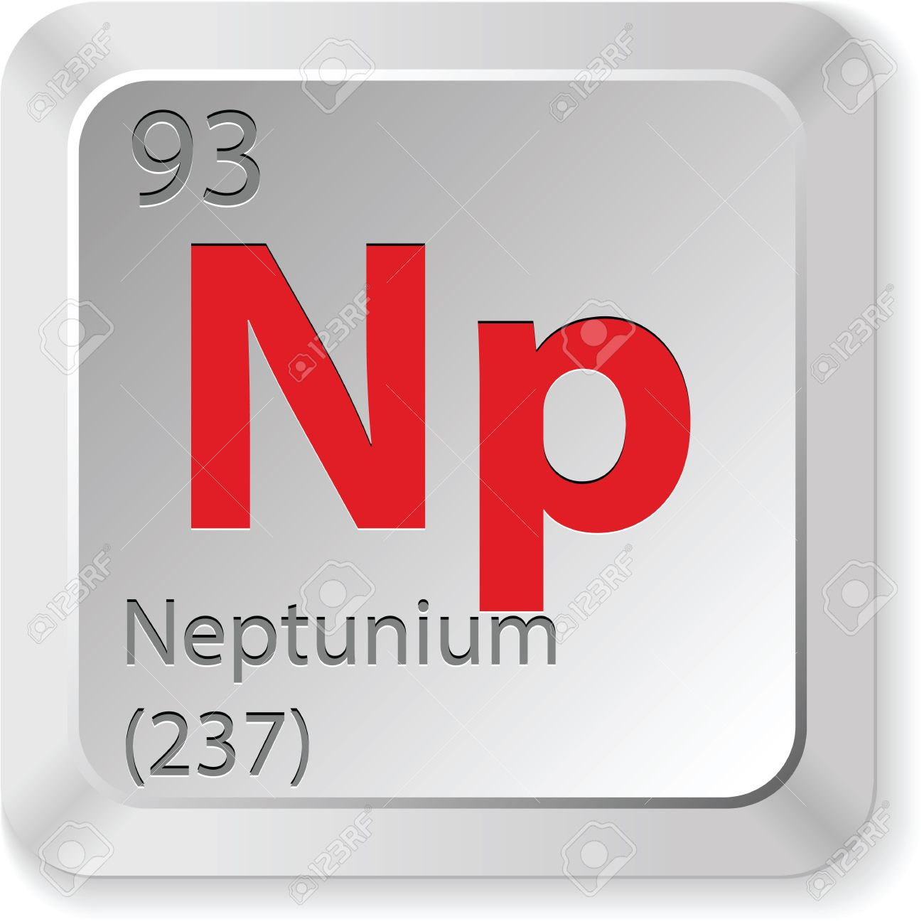 Neptunium Element Royalty Free Cliparts, Vectors, And Stock.