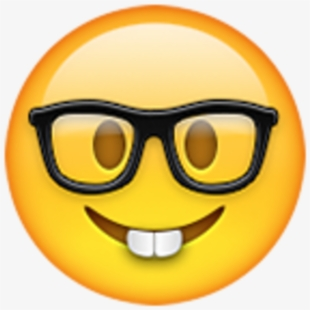 Nerd Email Whatsapp Iphone Emoji Hq Image Free Png.