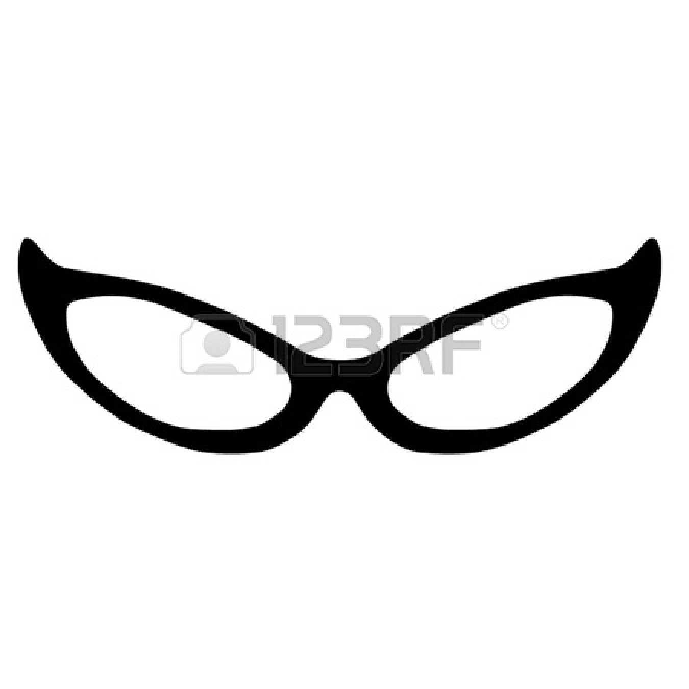 Nerd Glasses Sketch.