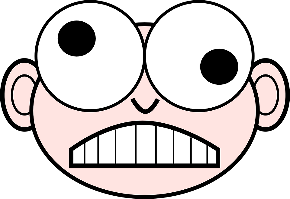 Free vector graphic: Eyes, Crazy, Funny, Face, Isolated.