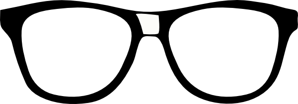 Nerd glasses glass clipart nerd glass pencil and in color.