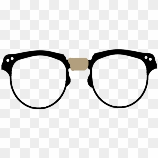 Nerd Glasses PNG Transparent For Free Download.