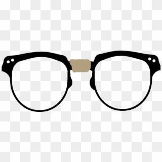 Nerd Glasses PNG Transparent For Free Download.