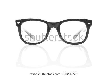 Geek Glasses Stock Images, Royalty.