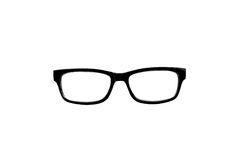 Black Nerd Glasses Stock Photography.