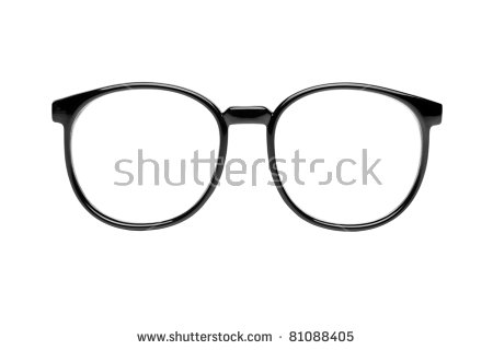 Nerd Glasses Stock Images, Royalty.
