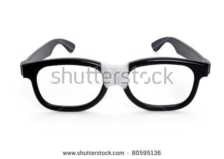 Nerd Glasses Tape Stock Images, Royalty.