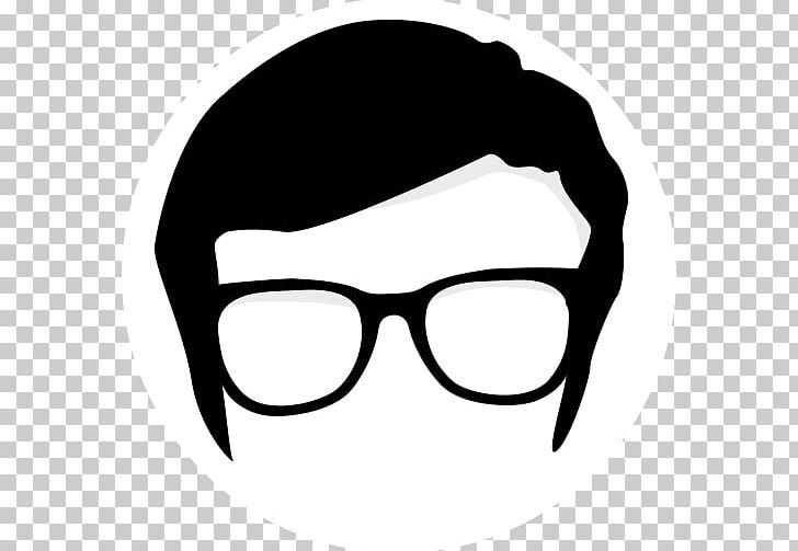 Nerd Cartoon Geek PNG, Clipart, Black, Black And White.