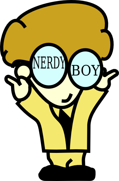 Nerdy Clipart.