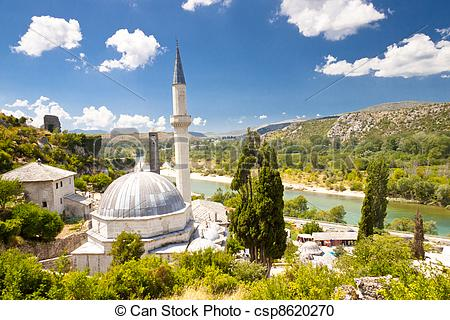Stock Photography of Mosque.