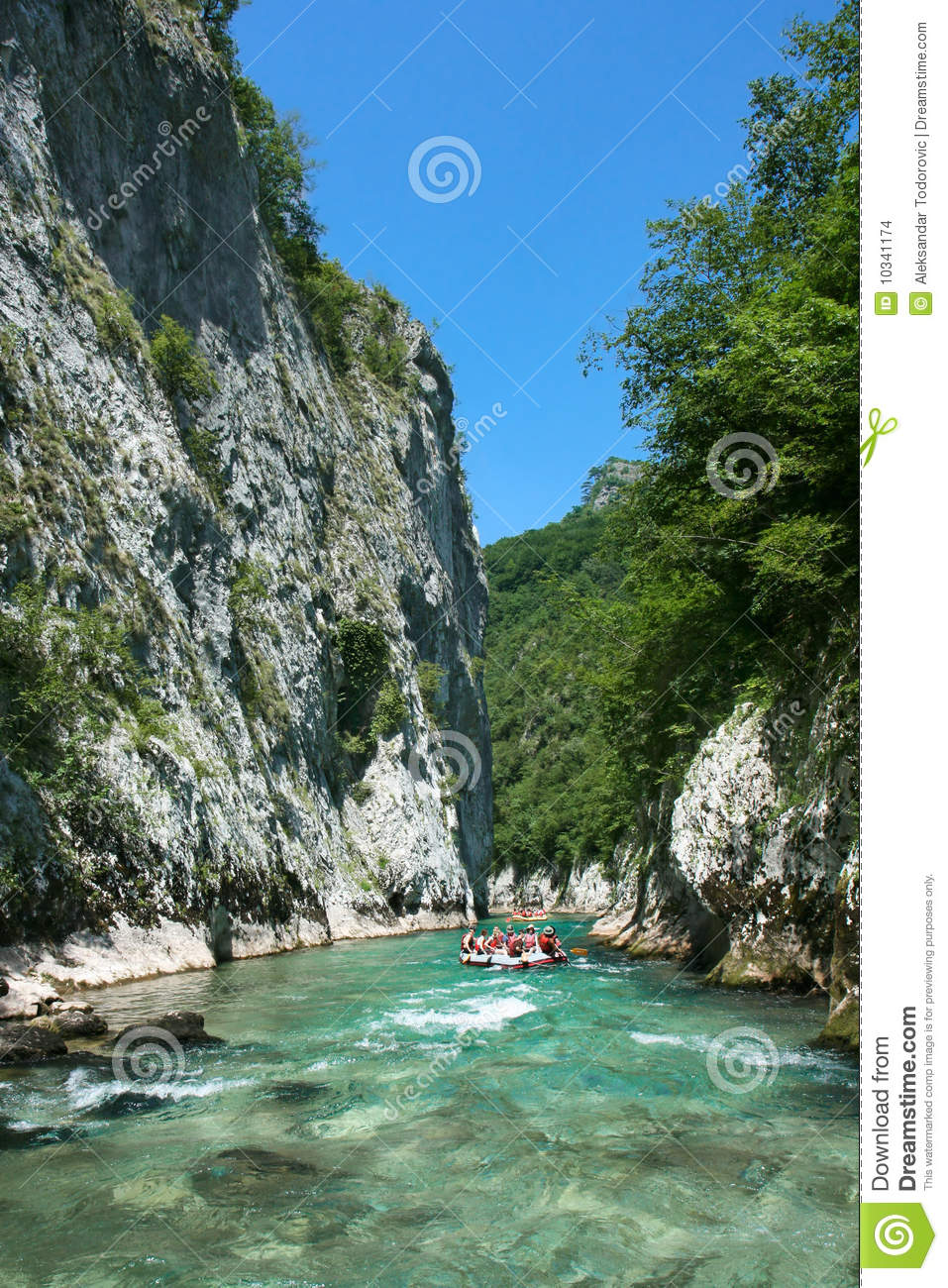 Canyon River Clipart.
