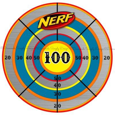 Nerf Target Clipart (28+).