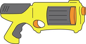 Nerf Gun Cliparts.
