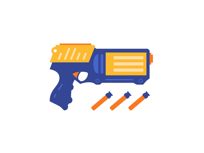 Nerf Gun Clipart Free Best On Transparent Png.
