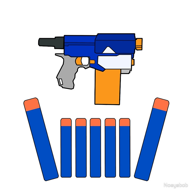 Collection of Nerf clipart.