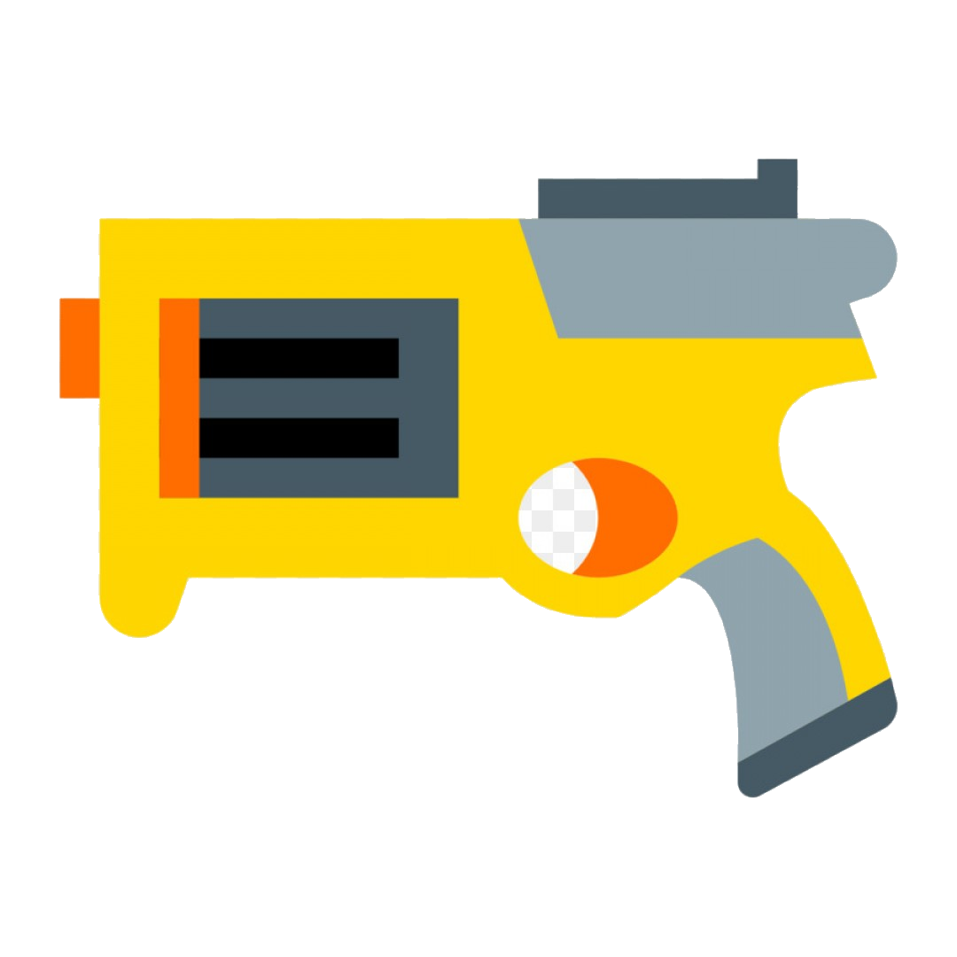 Nerf Gun Shining Design Clipart Dot To Images Clip Art.