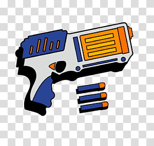 NERF transparent background PNG cliparts free download.
