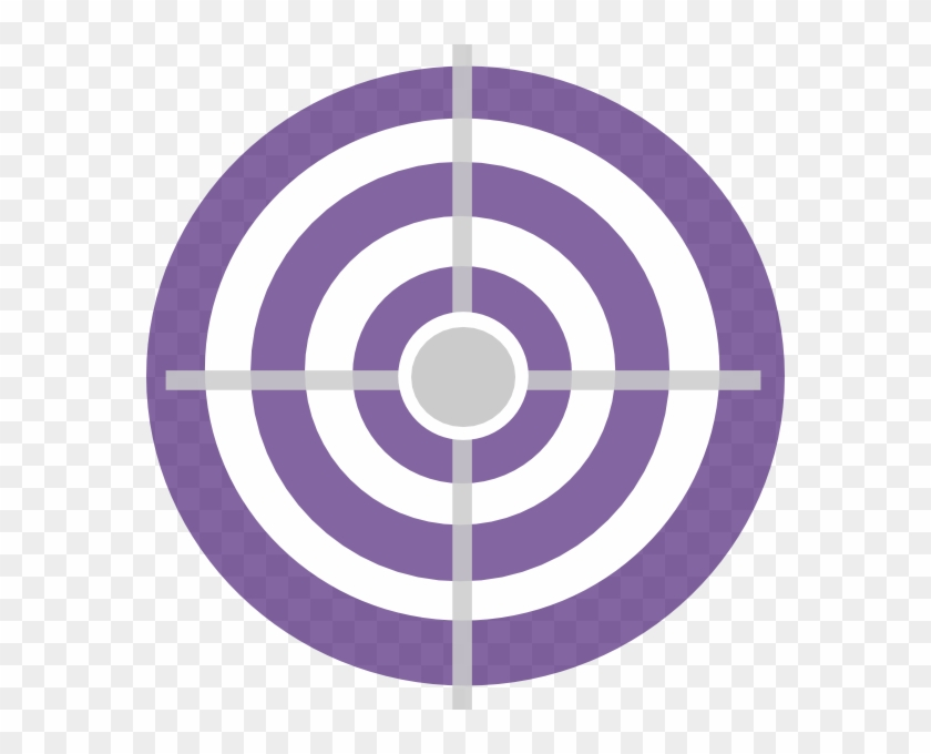 Purple Target Clip Art.