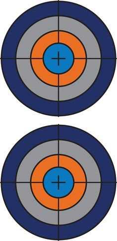 2158 Target free clipart.