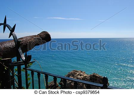 Stock Photo of Canon, Balcony of Europe, Nerja..