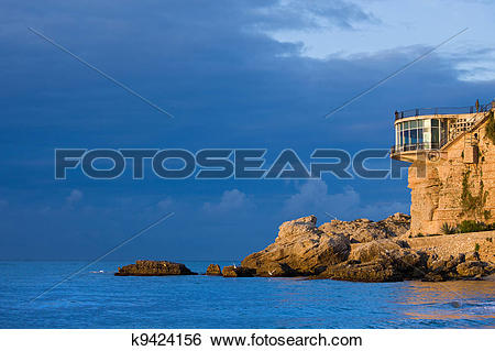 Stock Images of Balcon de Europa in Nerja k9424156.