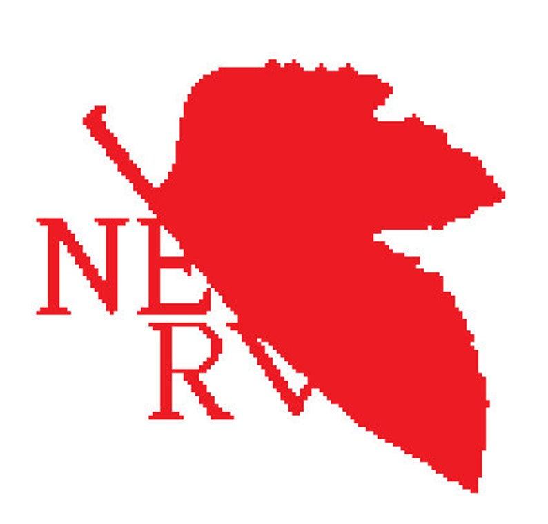 PATTERN: Evangelion NERV Logo.