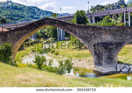 Humpback Bridge Stock Photos, Royalty.