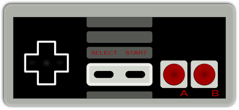 Free Clipart: Nintendo 8.
