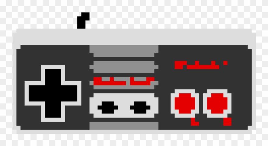Nes Controller Pixel Art.