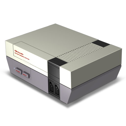 Nes Console Icon Free Download as PNG and ICO, Icon Easy.