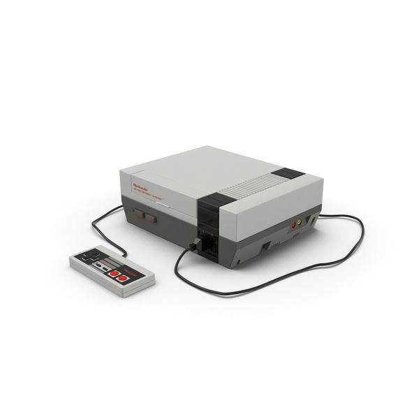 Nintendo NES Console PNG Images & PSDs for Download.