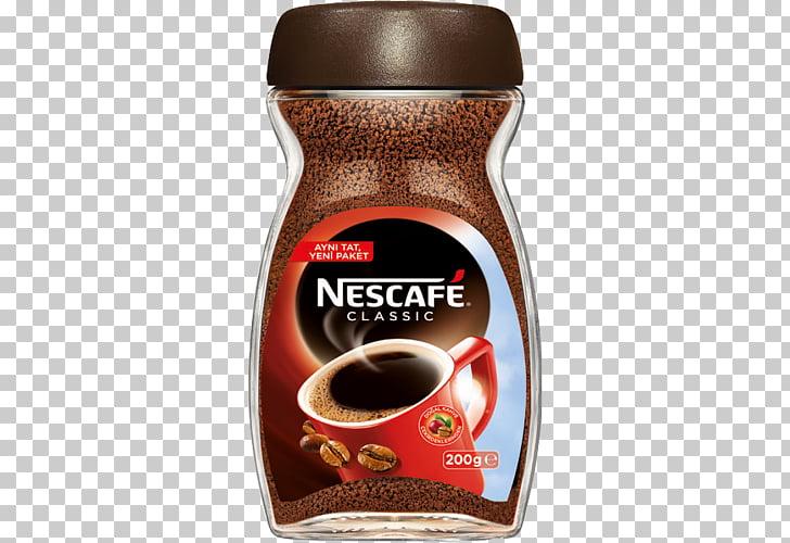 Instant coffee Tea Nescafé Coffee bean, Coffee PNG clipart.